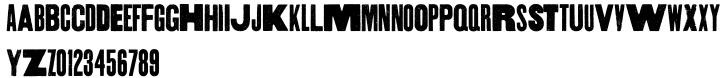 Thunderhouse™ Font Sample