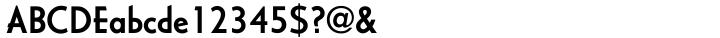 Casablanca™ Font Sample