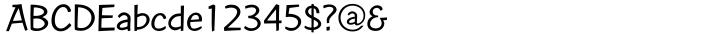 Contemporary Brush™ Font Sample