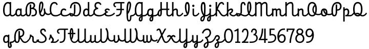 HT Cartoleria™ Font Sample