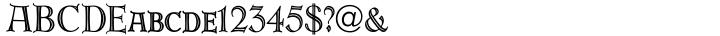 URW Erbar™ Font Sample