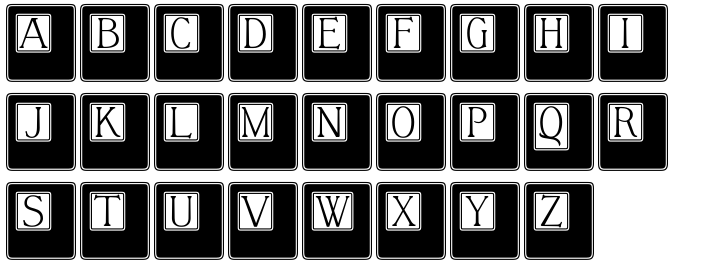 Chapter Initials™ Font Sample