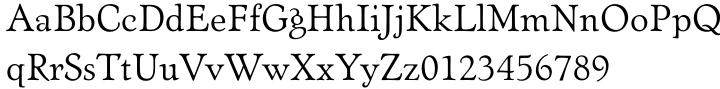 Artcraft Pro Font Sample
