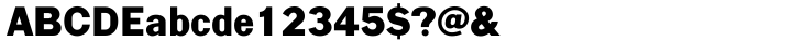 Largo™ Font Sample