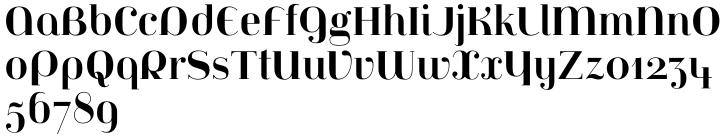 Jeanne Moderno™ Font Sample