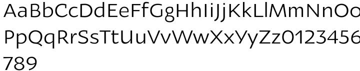 Oksana Sans™ Font Sample