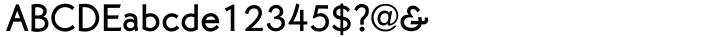 Martin Gothic™ Font Sample