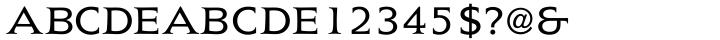 President™ Font Sample