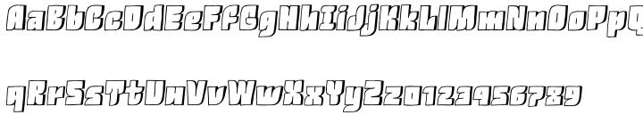 VLNL Knoffel™ Font Sample