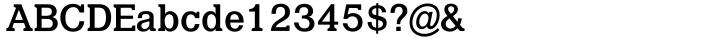 Quint™ Font Sample