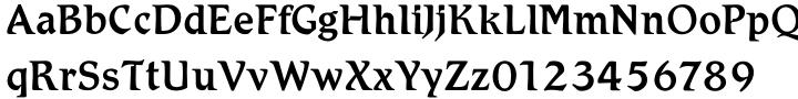 Schadow Antiqua™ Font Sample