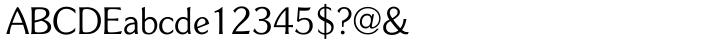Souvenir Gothic™ Font Sample