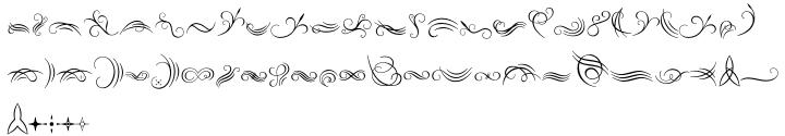Natalya Swashes™ Font Sample