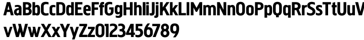 Megaphone™ Font Sample