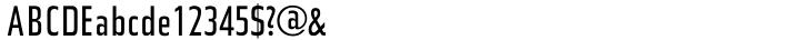 URW Topic™ Font Sample