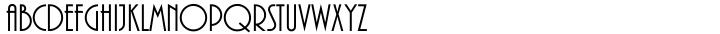 Plaza™ Font Sample