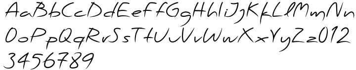 PF Scandal Pro™ Font Sample