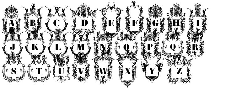Victorian Ultra Paraphernalia Font Sample