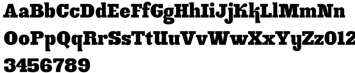 Ink Gothic™ Font Sample
