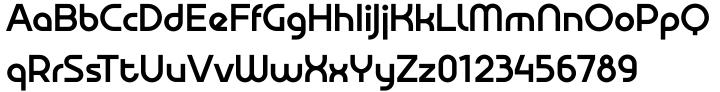 Aldrans™ Font Sample