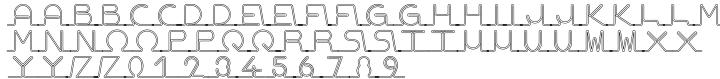Shine Font Sample