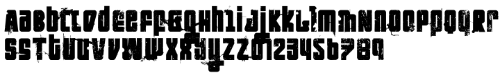 Nihilist Philosophy™ Font Sample