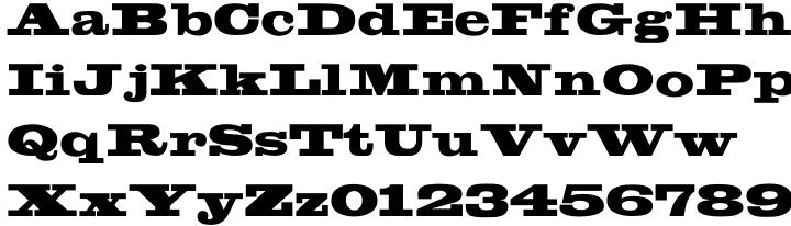 Lockup JNL Font Sample