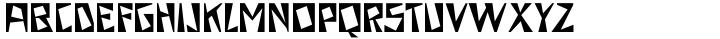 Arte Critique JNL Font Sample