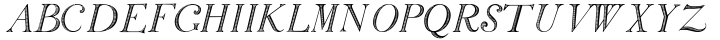 SiliusEngraved Font Sample