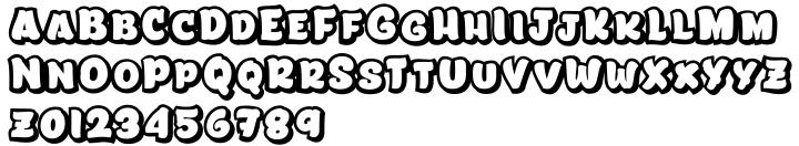 Lita™ Font Sample