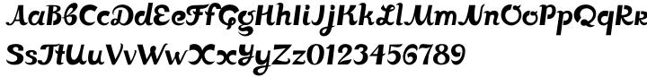 Johnny The Hook Roman™ Font Sample