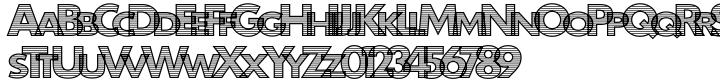 Carcel™ Font Sample