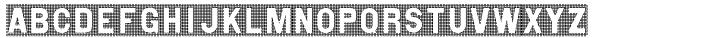 Wire Mesh JNL Font Sample