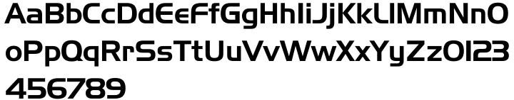Handel Gothic™ Font Sample