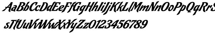 Cafelatte Font Sample