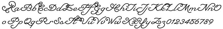 Natalya Monoline™ Font Sample