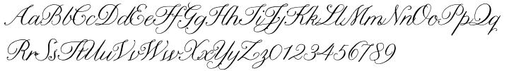 Nelly Script™ Font Sample