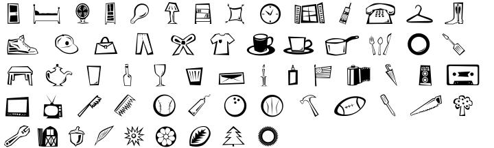 Radicals™ Font Sample
