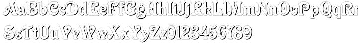 Elara Font Sample