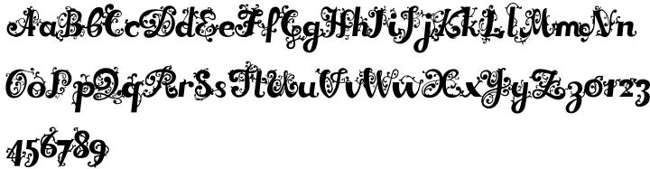 Dreamland Roman™ Font Sample