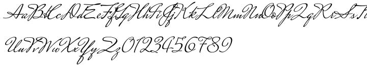 Mrs Saint-Delafield Pro Font Sample