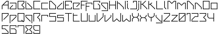 VanBerger™ Font Sample