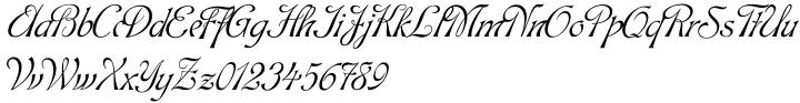 Hortensia™ Font Sample