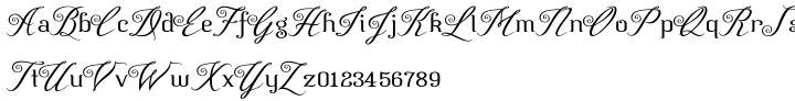 Azelea™ Font Sample