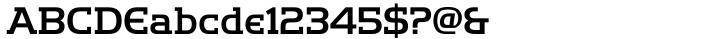 Handel Slab Font Sample