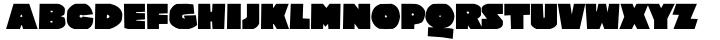 Poleno Font Sample