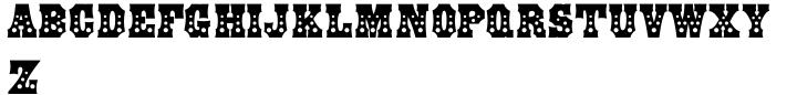 Grande Parade JNL Font Sample