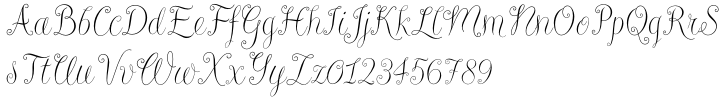 Riva™ Font Sample