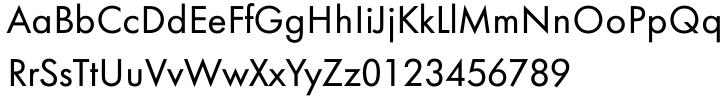 Futura Text EF Pro® Font Sample