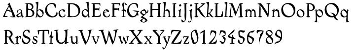Alcoholica™ Font Sample
